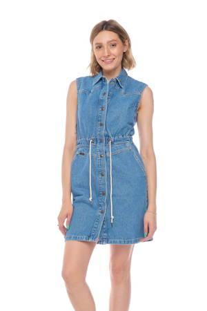 LEE DRAWSTRING DRESS CLEAN CALLIE L50HGAZE